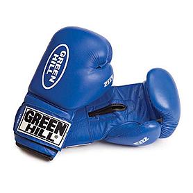 Фото 1 к товару Перчатки боксерские Green Hill Zees (синие)