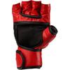 Перчатки без пальцев кожаные Green Hill (красные) - фото 2