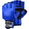 Перчатки снарядные без пальцев Green Hill (синие) - фото 1
