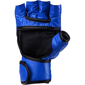 Фото 2 к товару Перчатки снарядные без пальцев Green Hill (синие)