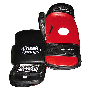 Лапа-перчатка тренерская Green Hill