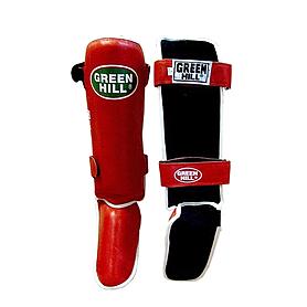 Защита для ног (голень+стопа) Green Hill Classic (красная) - XL