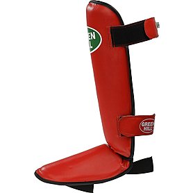 Защита для ног (голень+стопа) Green Hill Rise (красная) - L