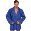Куртка для самбо Green Hill синяя - фото 1