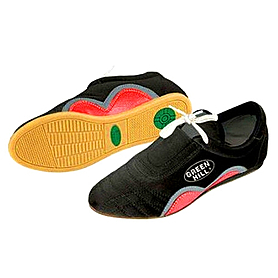 Обувь для тхэквондо (степки) черная Green Hill