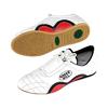 Обувь для тхэквондо (степки) кожаная белая Green Hill - фото 1