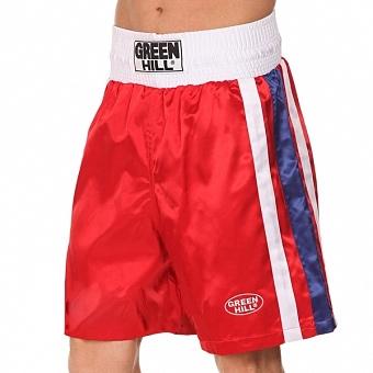 Трусы боксерские Green Hill Olympic (красные)