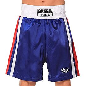 Трусы боксерские Green Hill Olympic (синие)