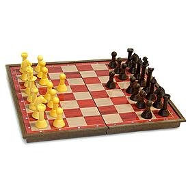 Шахматы настольная дорожная игра SC5700 (пластик, фигуры на магнитах, р-р доски 30см x 30см)