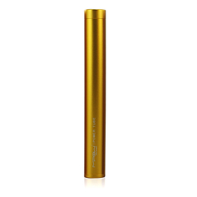 Устройство зарядное MiPow Power Tube 4400 золотистое