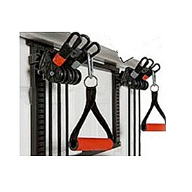 Фото 5 к товару Тренажер с эспандерами и блоками Bradex