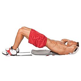 Фото 4 к товару Тренажер для мышц живота реверсивный Bradex