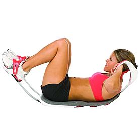 Фото 7 к товару Тренажер для мышц живота реверсивный Bradex