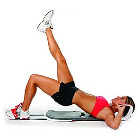 Фото 8 к товару Тренажер для мышц живота реверсивный Bradex
