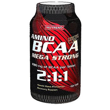 Аминокомплекс Nutrend Amino BCAA mega strong tabs 2:1:1 (150 таблеток)