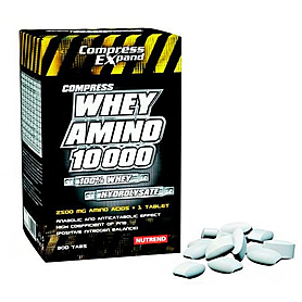 Фото 1 к товару Аминокомплекс Nutrend Compress Whey Amino 10 000 (300 таблеток)