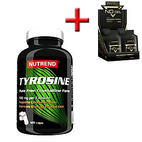 Аминокомплекс Nutrend Tyrosine (120 капсул) + подарок