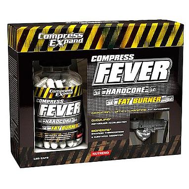 Жиросжигатель Nutrend Compress Fever (120 капсул)