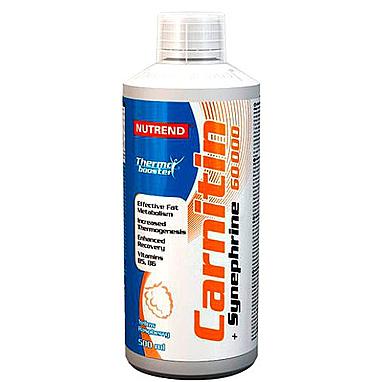 Жиросжигатель Nutrend Carnitin 60000 + Synephrine (500 мл)