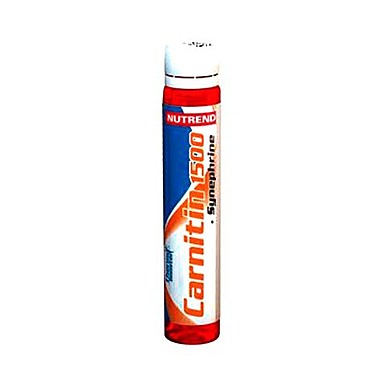 Жиросжигатель Nutrend Carnitin 1500 + Synephrine (25 мл)