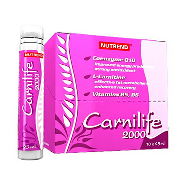 Жиросжигатель Nutrend Carnilife 2000 (20x25 мл)