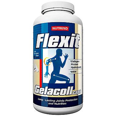 Комплекс для суставов и связок Nutrend Flexit Gelacoll (180 капсул)