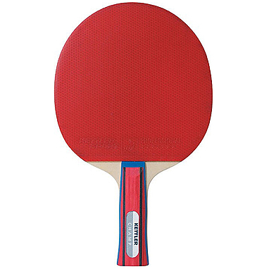 Ракетка для настольного тенниса Kettler Champ 3* (красная)