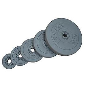 Диск композитный 10 кг Torneo,  диаметр - 31 мм