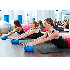 Фото 4 к товару Мяч для пилатеса и фитнеса 20 см Aerobic Ball