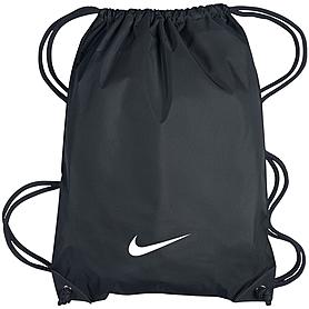 Фото 1 к товару Сумка спортивная Nike Fundamentals Swoosh Gymsack черный