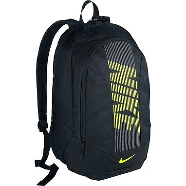 Рюкзак городской Nike Graphic North Classic II BP черный с зеленым