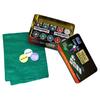 Набор для игры в покер, в металлической коробке, 200 фишек - фото 1