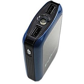 Фото 2 к товару Устройство зарядное мобильное для планшетов и телефонов Power Bank 8400