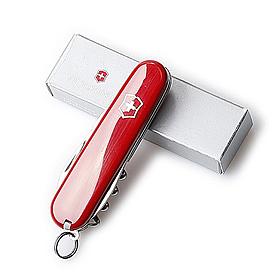 Фото 4 к товару Нож швейцарский Victorinox Sportsman + кольцо