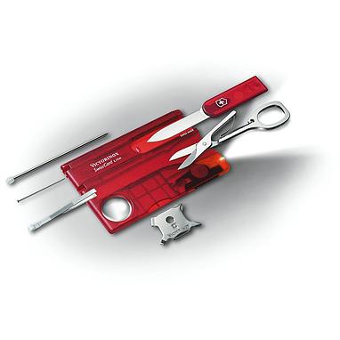Набор Victorinox SwissCard Lite красный