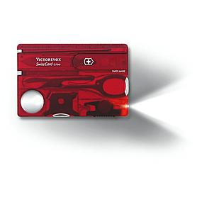 Фото 2 к товару Набор Victorinox SwissCard Lite красный
