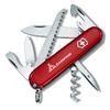 Нож швейцарский Victorinox Swiss Army Camper красный с логотипом Camping - фото 1