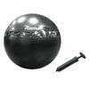 Мяч для фитнеса (фитбол) 65 см с рисунками упражнений Tunturi - фото 1