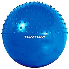 Фото 1 к товару Мяч для фитнеса (фитбол) массажный 65 см Tunturi