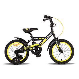 Фото 1 к товару Велосипед детский Pride Flash 16'' 2015 черно-желтый матовый