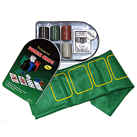 Набор для игры в покер Poker Chips, 120 фишек