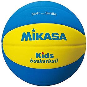 Фото 1 к товару Мяч баскетбольный детский Mikasa Kids SB5-YBL (Оригинал)