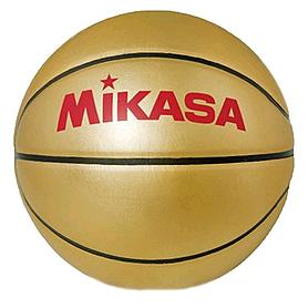 Фото 1 к товару Мяч баскетбольный сувенирный Mikasa Gold ВB (Оригинал)