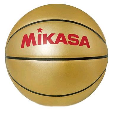 Мяч баскетбольный сувенирный Mikasa Gold ВB (Оригинал)
