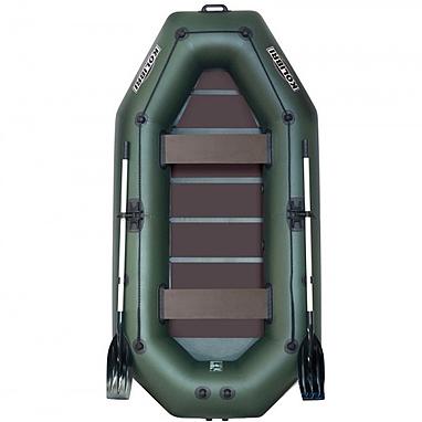 Лодка надувная Kolibri К-280СT+(слань-коврик)