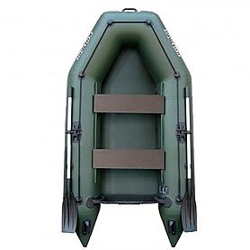 Фото 1 к товару Лодка надувная моторная Kolibri КМ-260+(слань-коврик)