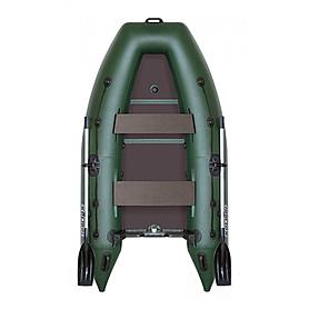 Лодка килевая моторная Kolibri КМ-300Д+(слань-книжка)