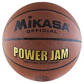 Фото 1 к товару Мяч баскетбольный Mikasa Power Jam BSL20G (Оригинал) BSL20G-6