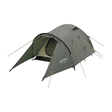 Палатка двухместная Terra Incognita Zeta 2 зеленая