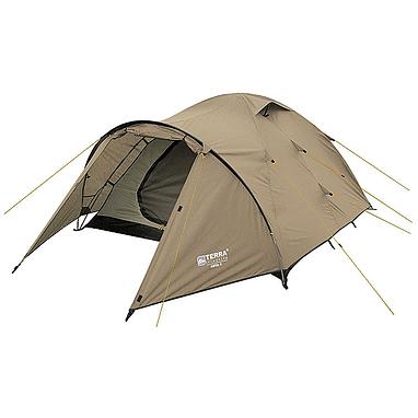 Палатка трехместная Terra Incognita Zeta 3 песочная